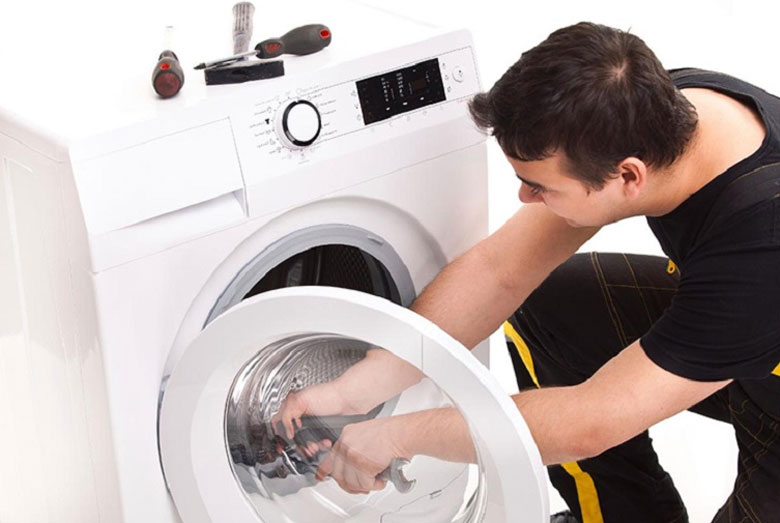 máy giặt LG không vắt được do chương trình bị lỗi